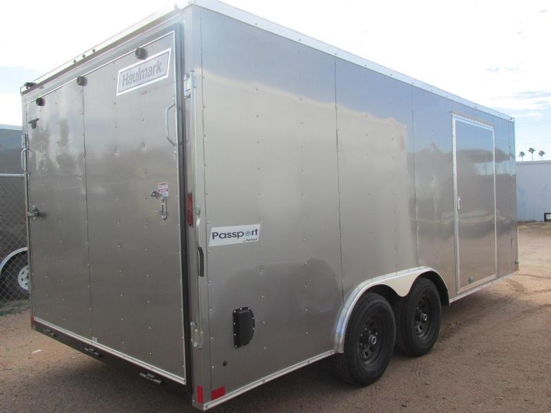 2018 Haulmark 85x18 Enclosed Cargo Trailer