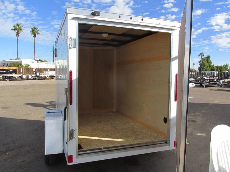 2019 Haulmark 5x8 Enclosed Cargo Trailer