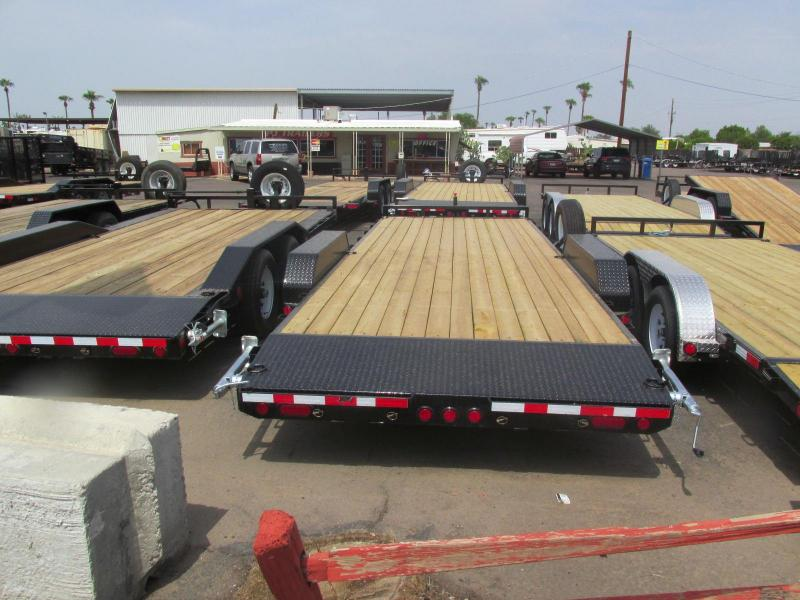 "2018 PJ Trailers CE 83""x22' 5"" C-Channel Equipment Hauler"