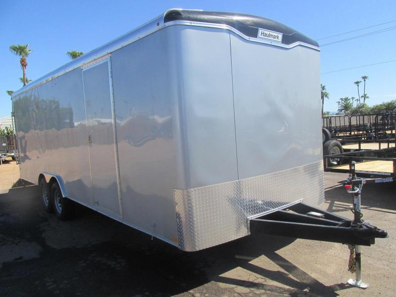 8.5x24 Versatile Haulmark Transport Enclosed Cargo Trailer