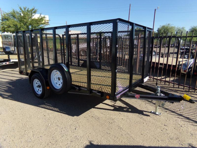 2019 PJ Trailers U2121 4FT.EXP METAL SIDES Utility Trailer