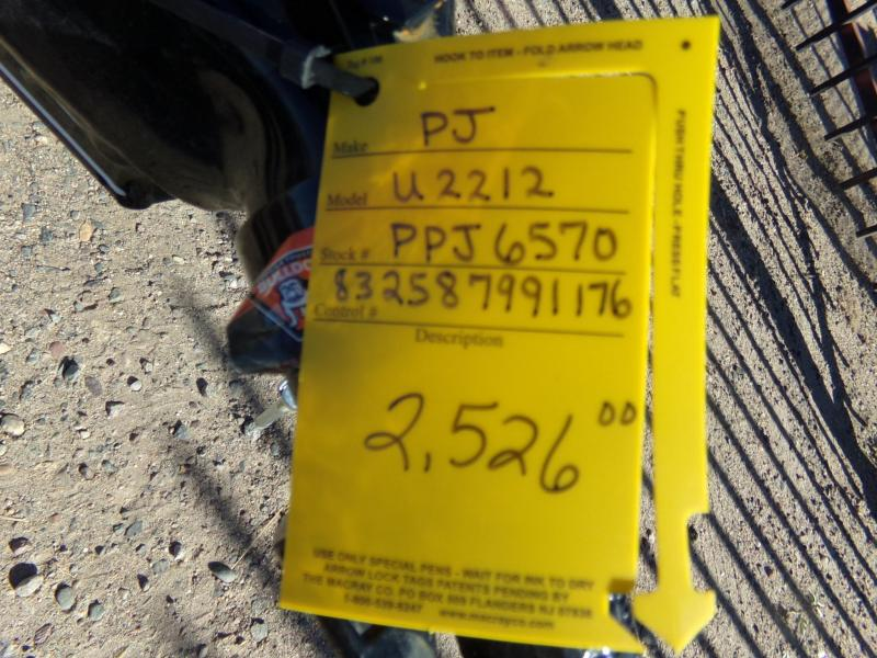 2019 PJ Trailers U2121 4FT.EXP METAL SIDES Utility Trailer