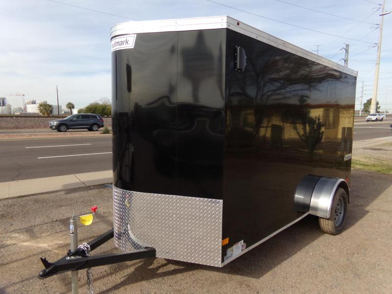 2019 Haulmark TRANSPORT Enclosed Cargo Trailer RAMP DOOR