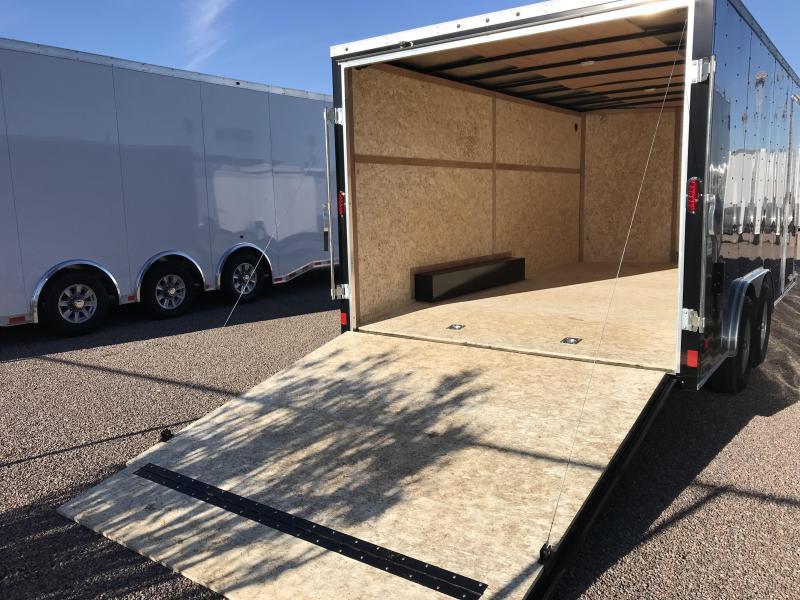 2019 Haulmark 8.5X16 Enclosed Cargo Trailer