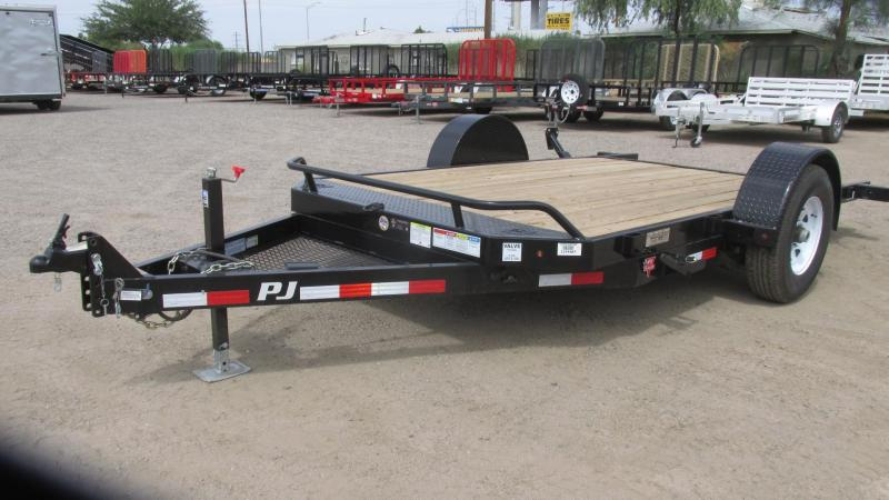 2017 PJ Trailers Heavy DutyTilt Equipment Trailer