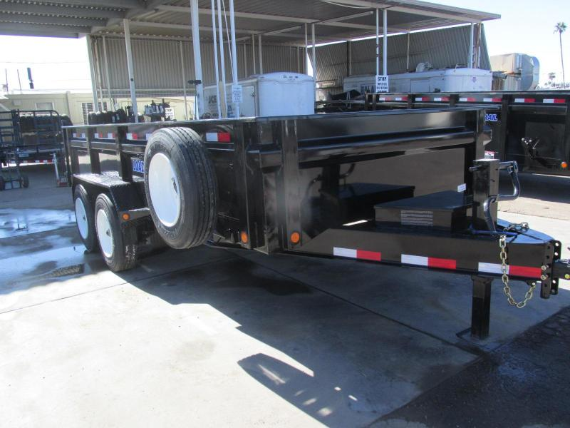 2019 Load Trail 83X16 Dump Trailer High-End
