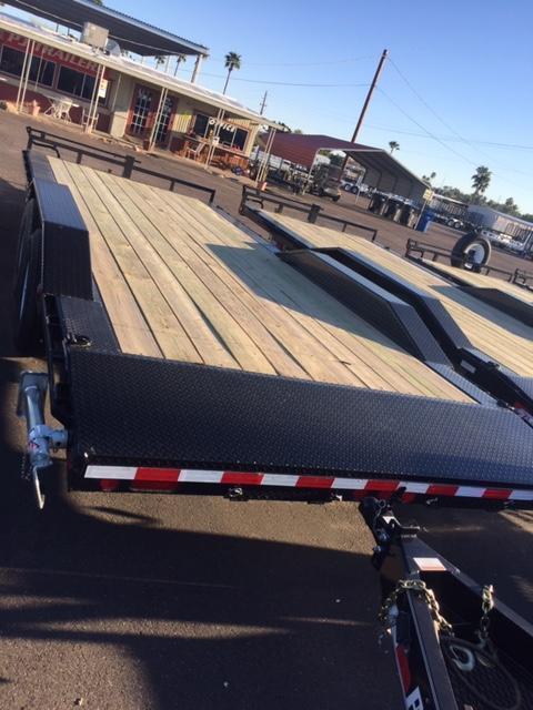 "2019 102""x22' PJ Trailer Equipment 3-Year Warranty"