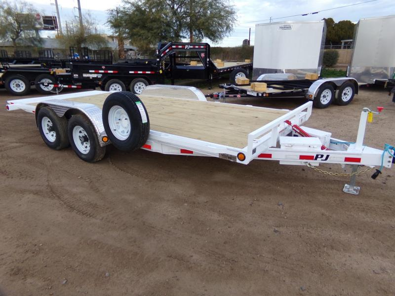 2019 PJ Trailers TILT CAR HAULER 18 FT Car / Racing Trailer
