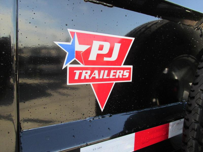 2019 PJ Trailers 102x36 Flatbed Power Dove Tail Trailer