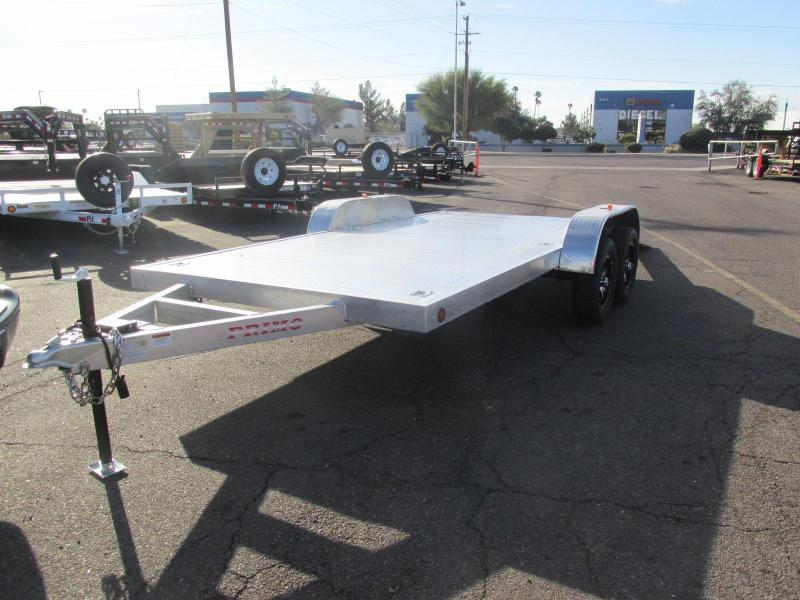 2019 Primo 82x16 Car / Racing Trailer