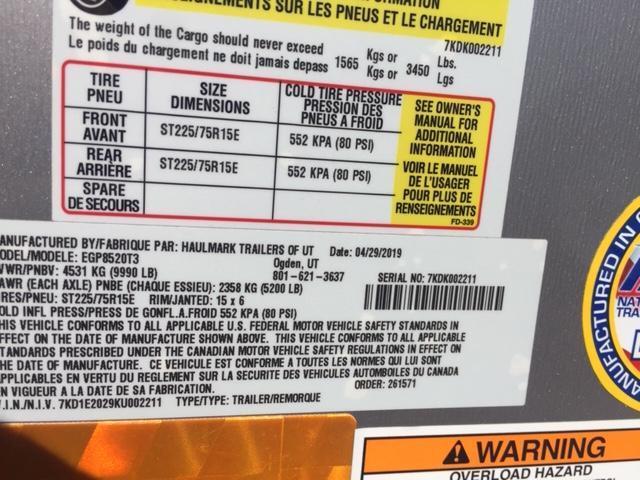RENT ME! 8.5x20 Haulmark Edge Pro Enclosed Cargo Trailer