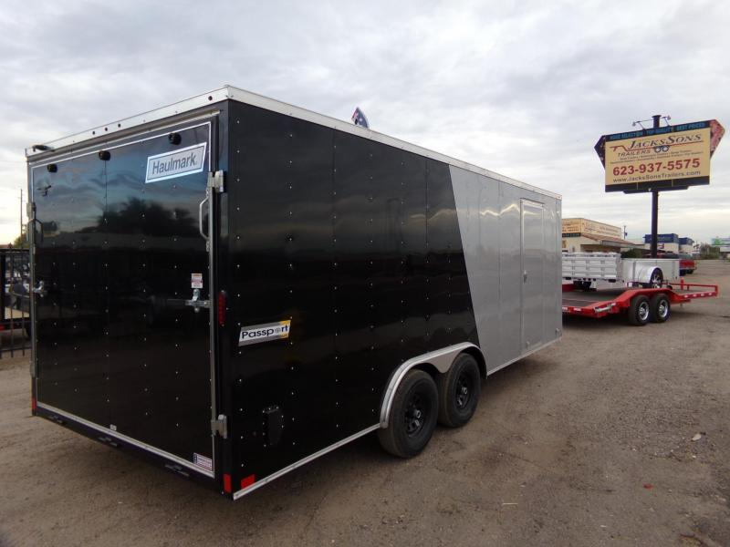 2019 Haulmark 20 FT X 85 W. ENCLOSED PASSPORT TWO TONE PAINT Car / Racing Trailer