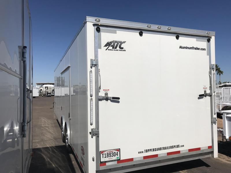2018 ATC 8.5X34 Enclosed Cargo Trailer