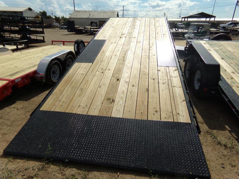 2019 PJ Trailers 22FT DECKOVER TILT CAR HAULER Car / Racing Trailer