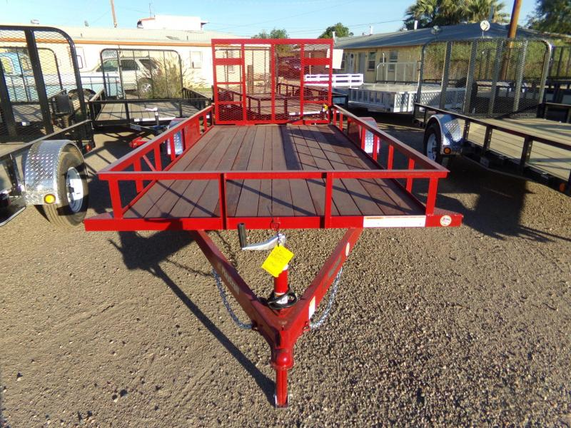 2019 Sun Country Utility UTV ATV RAMP Utility Trailer