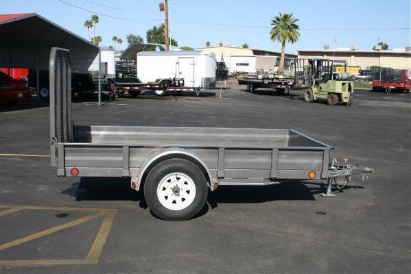 5'x10' RENTAL TRAILER *NOT FOR SALE* 2010 PJ Trailers U6 Utility Trailer