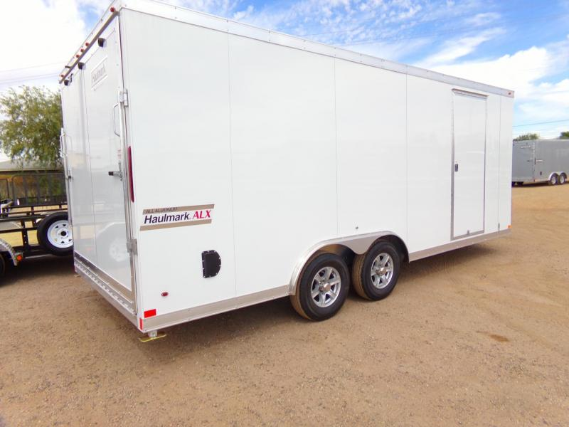 2018 Haulmark 8.5' x 20' ALUMINUM Enclosed Cargo Trailer