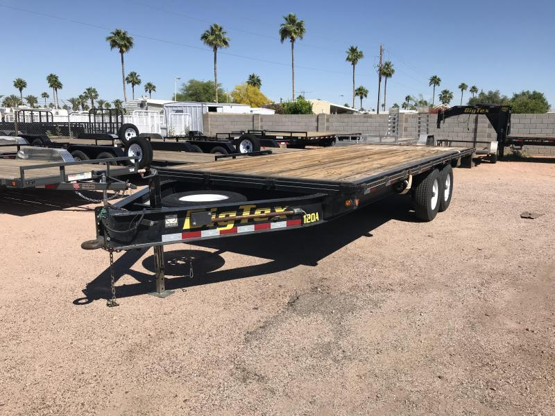 2012 Big Tex Trailers 102X20 Flatbed Trailer