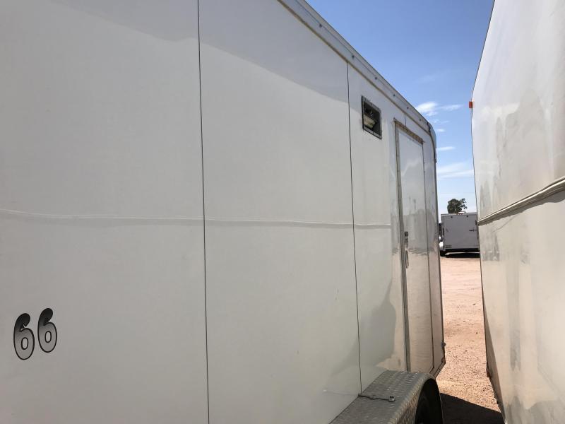 2016 Continental Cargo 7X12 Enclosed Cargo Trailer