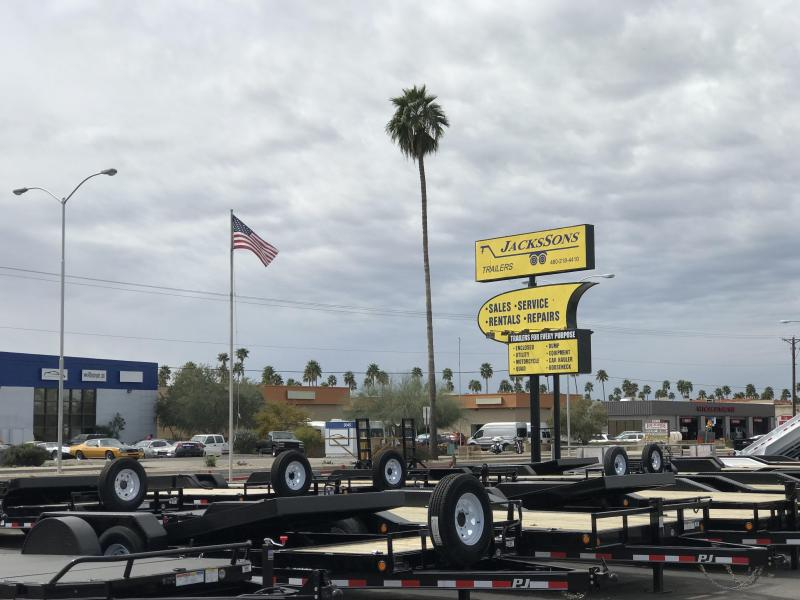 2019 PJ Trailers 96X26 Equipment FLAT BED Trailer