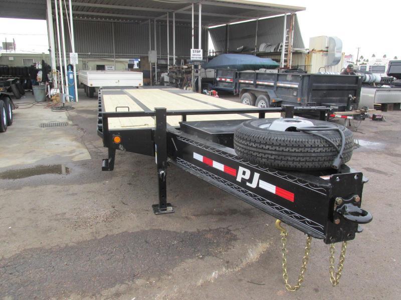 2019 PJ Trailers 102X30 Equipment Trailer