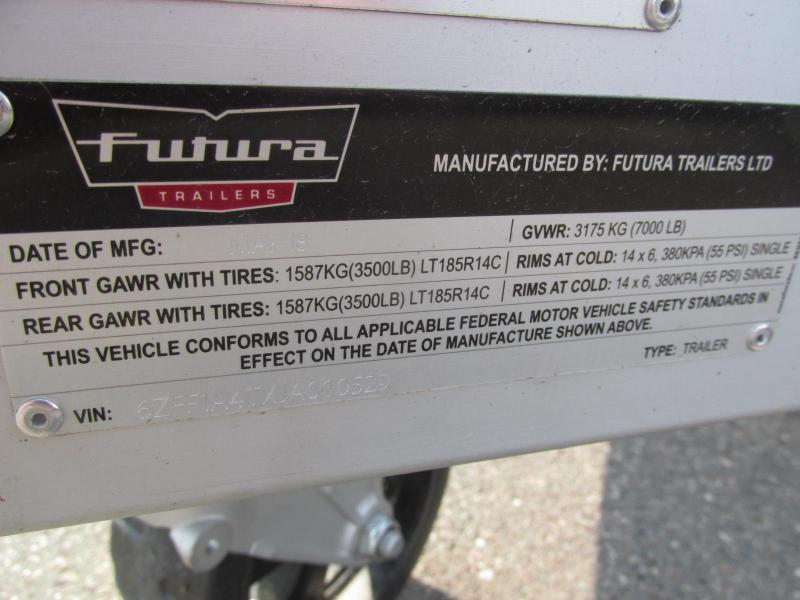 2018 Futura Trailers 16.5X79 Car / Racing Trailer