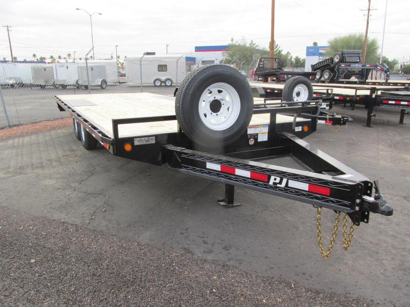 2018 PJ Trailers 102X22 DECK OVER Flatbed Trailer