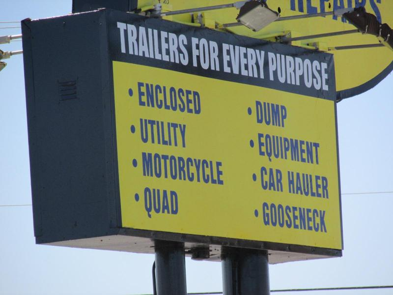 2016 Zieman 78X13 Utility Trailer