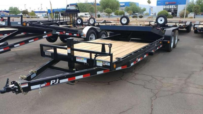 2017 PJ Trailers T6 Flatbed Trailer