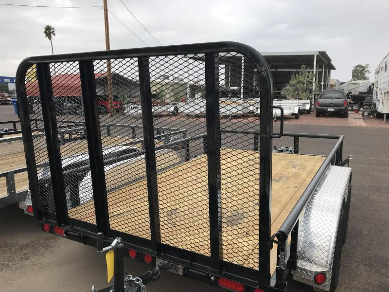 2020 PJ Trailers 12X77 TNDM CHANNEL  Utility Trailer