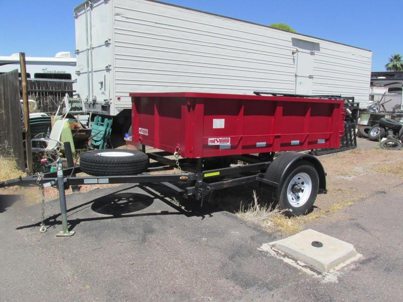 Inventory Reduction! Must Go!!! 2015 RED E DUMP 8'X5' 40B Dump Trailer