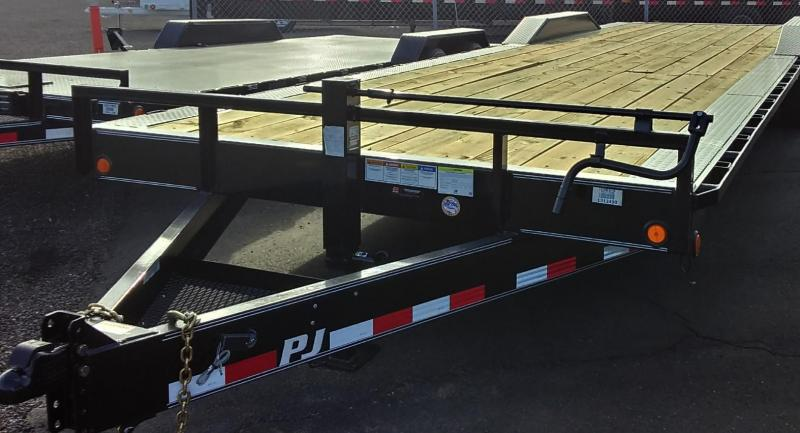 2020 PJ Trailers 32X8 CHANNEL SUPER WIDE Car / Racing Trailer