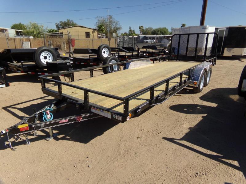 2019 PJ Trailers 18X83 CHANNEL UTILTY Utility Trailer