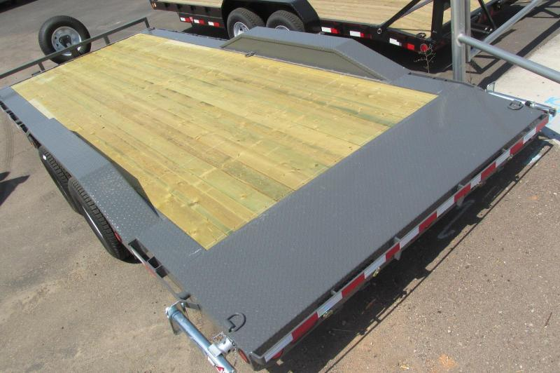 "RENT ME!!! *NOT FOR SALE* 102""x22' Buggy Hauler Trailer"
