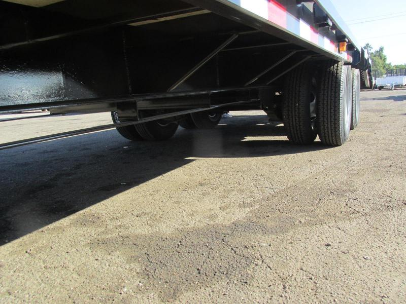 2019 PJ Trailers 102x32 Flatbed EQUIPMENT Trailer