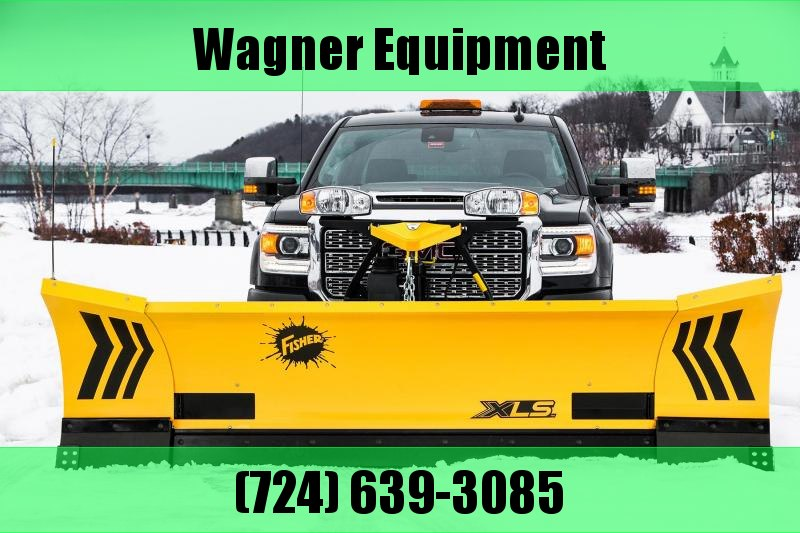 """Fisher 8'6""""-11' XLS 8611 MS Expandable Wing Snow Plow"""