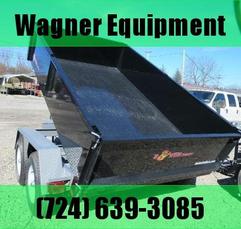 B-Wise DLP10-10 6'x10' Dump Trailer 9.9K GVWR in PA