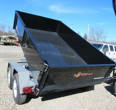 B-Wise DLP10-10 6'x10' Dump Trailer 9.9K GVWR in Ashburn, VA