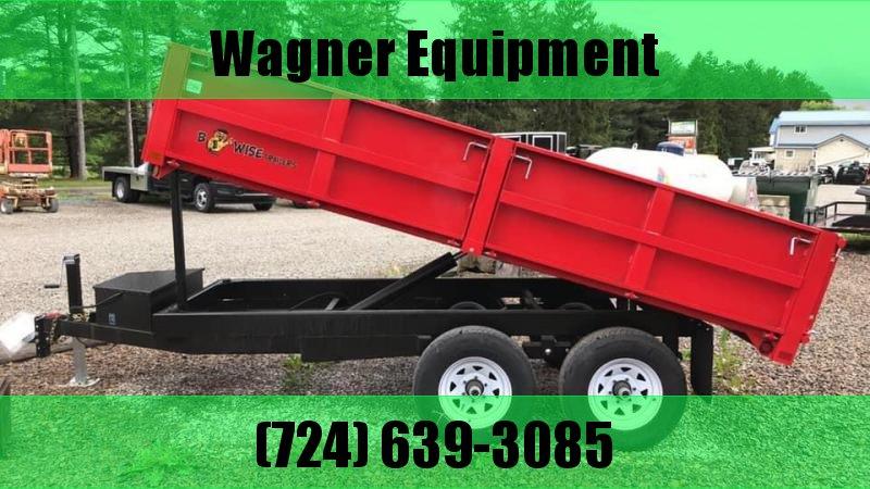 B-Wise DD12-10 6'x12' Deck Over Dump Trailer 9.9K GVWR in PA