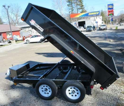 Bri-Mar DTR610LP-7-D 6'x10'Low Pro Dump 7K GVWR in Ashburn, VA