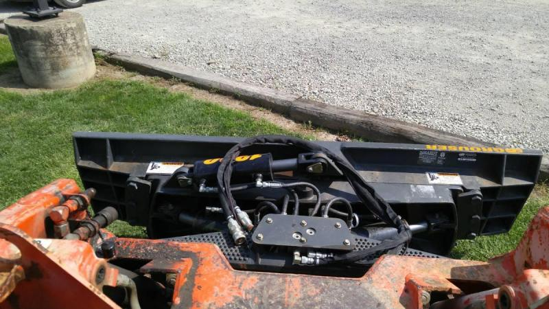 Grouser 1300 7 6 way dozer blade Attachment