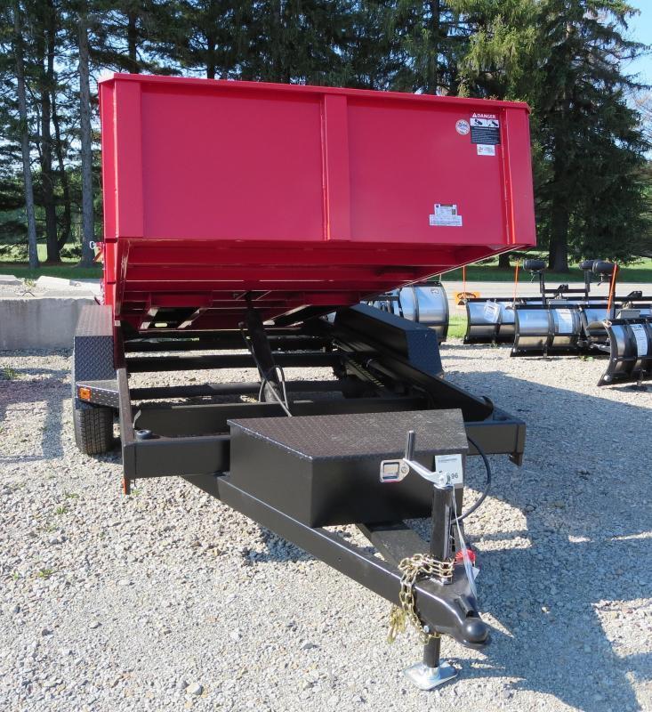 B-Wise DLP12-10 6'x12' Dump Trailer 9.9K GVWR