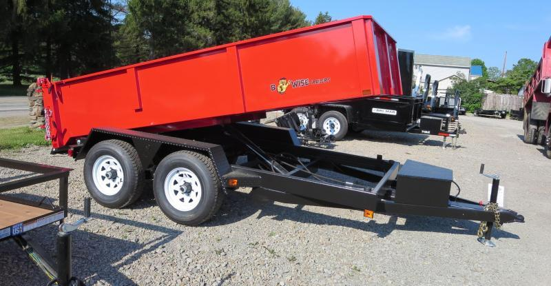 B-Wise DLP12-10 6'x12' Dump Trailer 9.9K GVWR in Ashburn, VA