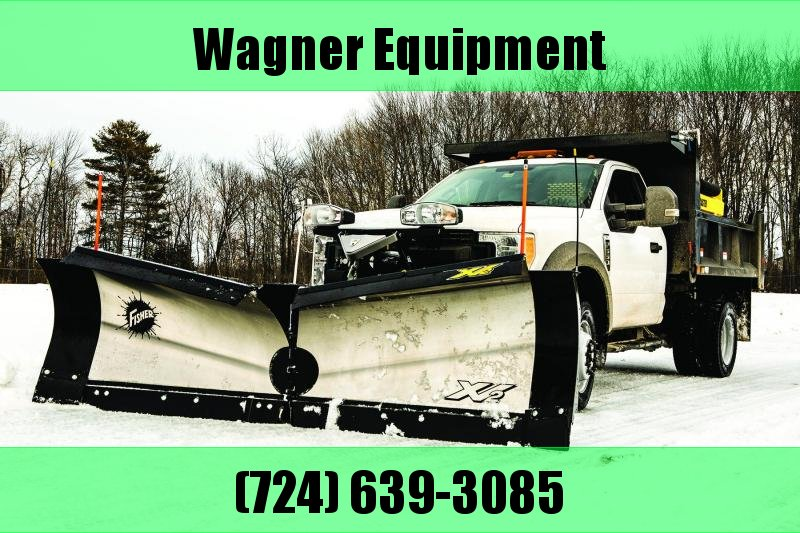 "Fisher 8'6"" XV2 SS Snow Plow"