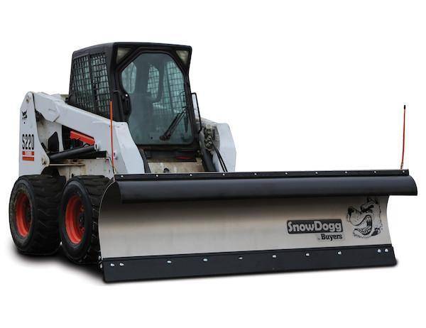 SnowDogg SKTE90 Skid Steer Snow Plow