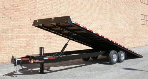 """B-Wise THD24-15 102""""x24' Hydraulic Tilt Deck Over 15.4K"""