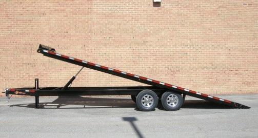 "B-Wise THD24-15 102""x24' Hydraulic Tilt Deck Over 15.4K"
