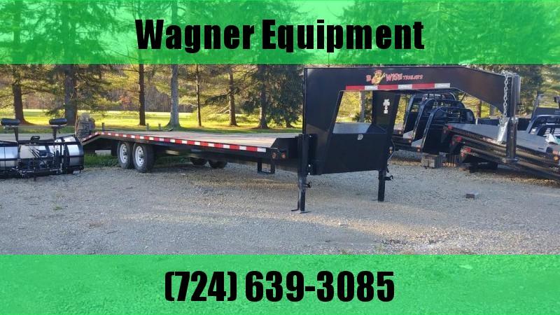 "2017 B-Wise EDG28-16 102""x28' Equipment Trailer 16.8K GVWR in Ashburn, VA"