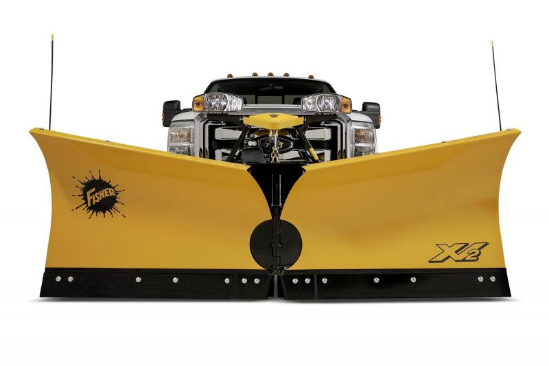 "Fisher 8'-6""  XV2 MS Snow Plow"