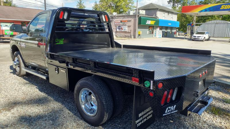 "CM RD Steel Flatbed Cab and Chassis 60"" CA"